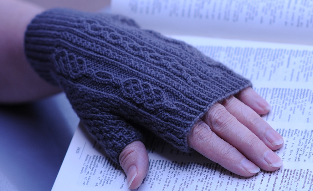 Translated Fingerless Mitts